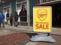 Неизвестные ограбили магазин лондонского Арсенала