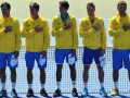 Украина выиграла два первых матча у Австрии на Кубке Дэвиса