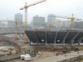 На НСК Олимпийский погиб строитель