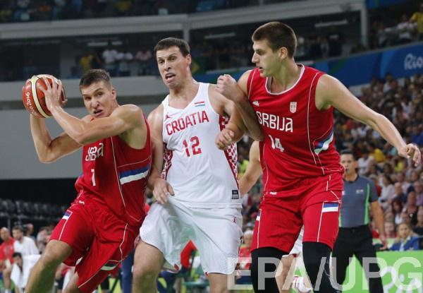 Сербия непустила Хорватию вполуфинал олимпийского турнира