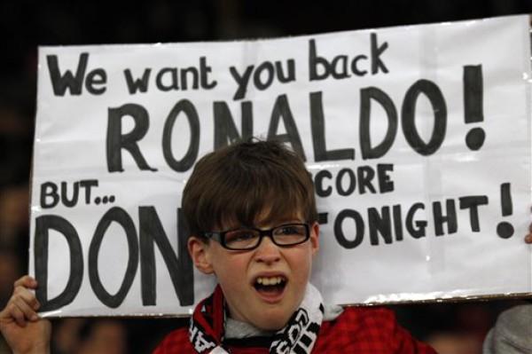 Роналду наплевал на пожелание болельщика