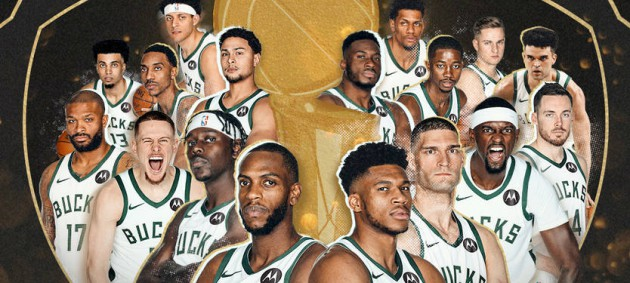 Милуоки Бакс - чемпионы НБА сезона-2020/21