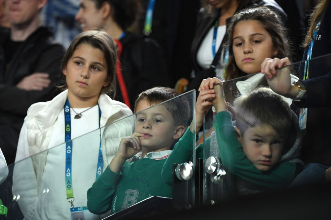 Дети Роджера Федерера