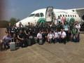Шапекоэнсе включил 71 прожектор в память жертв авиакатастрофы