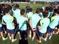 Первая тренировка Барселоны под руководством нового наставника (ВИДЕО)