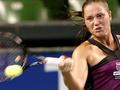 Катерина Бондаренко завершает борьбу на турнире в Хобарте