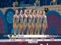 Сборная Украины по синхронному плаванию - бронзовый призер Европейских игр