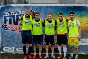 В Днепре определили финалистов футбольного соревнования Red Bull Neymar Jr's Five