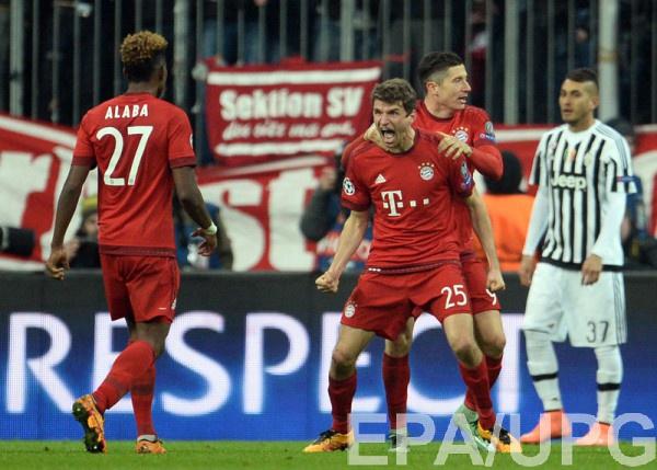 Бавария обыграла Ювентус и вышла в 1/4 финала Лиги чемпионов