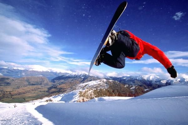 Обучение трюкам и прыжкам на сноуборде
