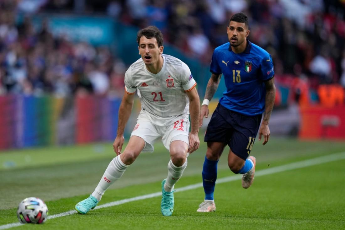 Италия обыграла Испанию