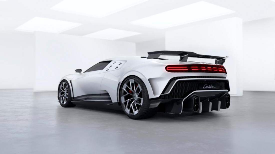 Bugatti Centodieci, которые купил Криштиану Роналду
