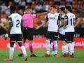 Валенсия в матче с двумя удалениями сумела обыграть Хетафе