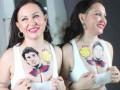 Украинская актриса у себя на груди сделала тату с Лионелем Месси