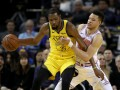 НБА: Голден Стэйт разгромил Нью-Йорк, Атланта в напряженной борьбе уступила Торонто
