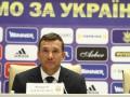 Шевченко рассказал о начале сборов сборной Украины