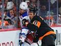 НХЛ: Рейнджерс всухую разгромил Филадельфию, Сан-Хосе в тяжелом матче уступил Калгари