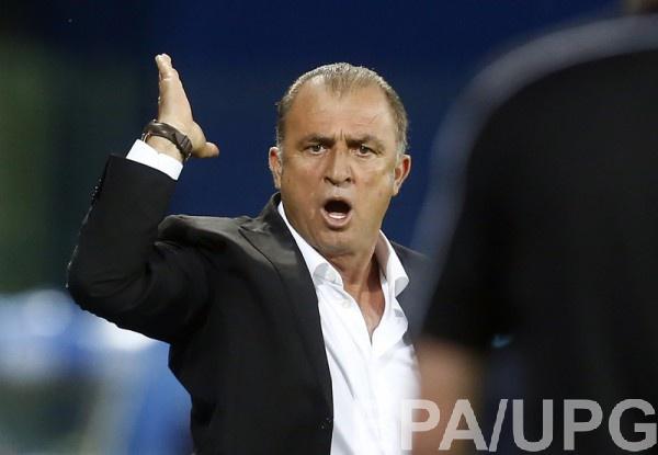 Тренер Турции Фатих Терим