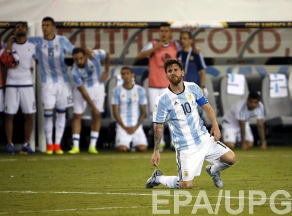 Месси твердо решил покинуть сборную Аргентины