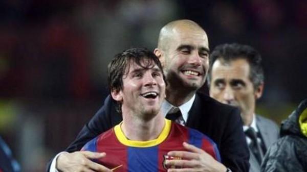 Гвардиола считает Месси великим футболистом