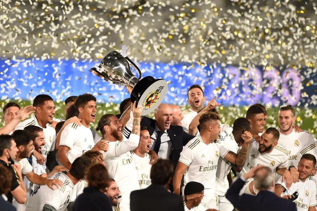 Реал – Вильярреал - 16 июля 2020 - обзор и празднование