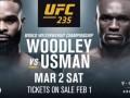 Вудли – Усман: анонс на бой UFC 235