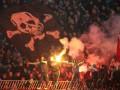 Белградское дерби: Фанат Партизана метнул смартфоном в игрока Црвены Звезды