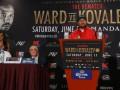 Ковалев - Уорд: как прошла финальная пресс-конференция