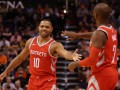 Хьюстон – третья команда в истории НБА, набравшая 90 очков за первую половину