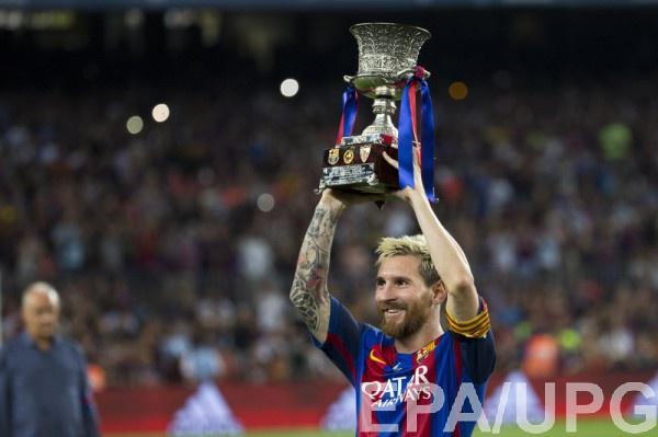 Месси помог Барселоне выиграть трофей