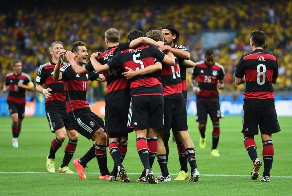 Сборная Германии сыграет в финале чемпионата мира