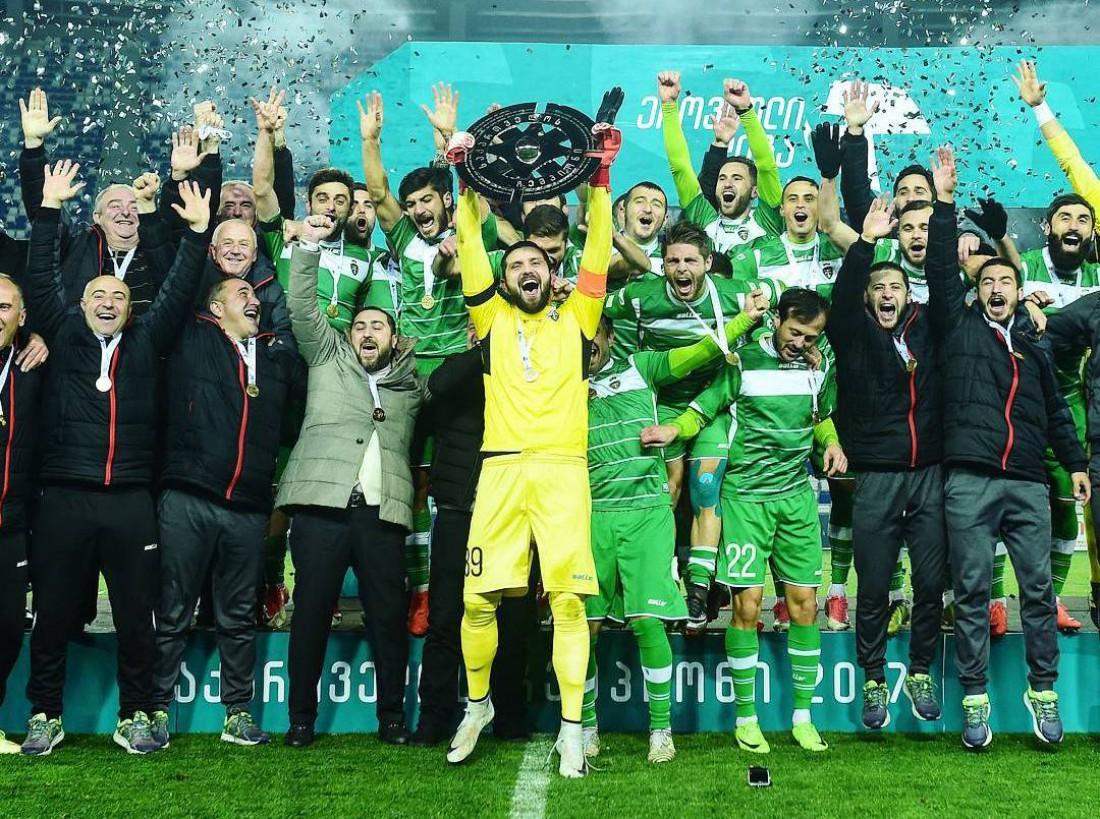 Торпедо - новый чемпион Грузии по футболу