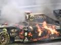 Пламенный сход. Болид Хайдфельда загорелся и взорвался во время Гран-при Венгрии