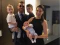 Рамос привез в Киев всю свою дружную семью