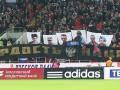 Российские фанаты повесили флаг ДНР