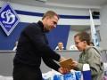 Динамо встретилось с детьми, пострадавшими от Чернобыльской АЭС
