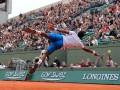Вратарский скилл: Неудачная попытка теннисиста спасти мяч