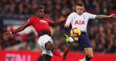 Тоттенхэм - Манчестер Юнайтед 0:1 видео гола и обзор матча АПЛ