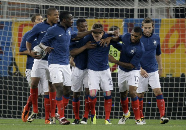 В сборной Франции много молодных игроков
