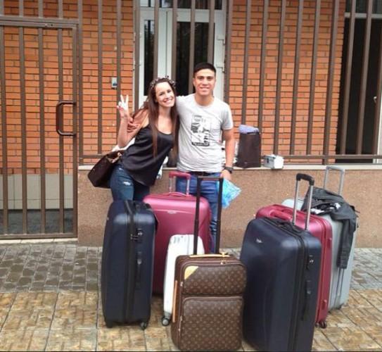 Кристальдо попрощался с Харьковом