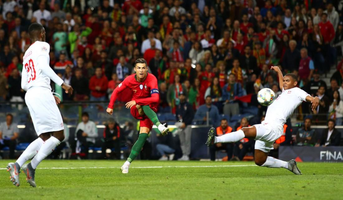 Португалия - Швейцария: видео голов