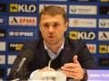 Ребров подал в отставку с поста тренера Динамо