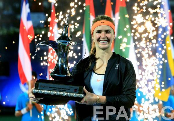 Свитолина - победитель турнира в Дубае