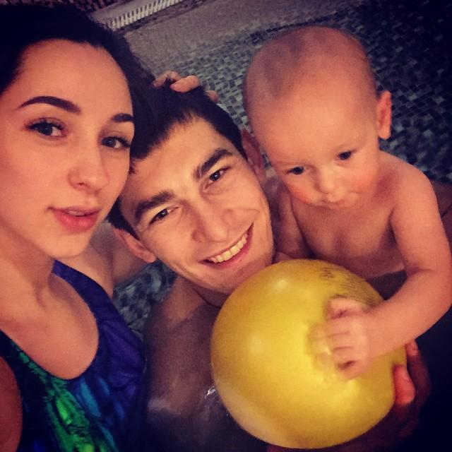 Тарас Степаненко в кругу семьи