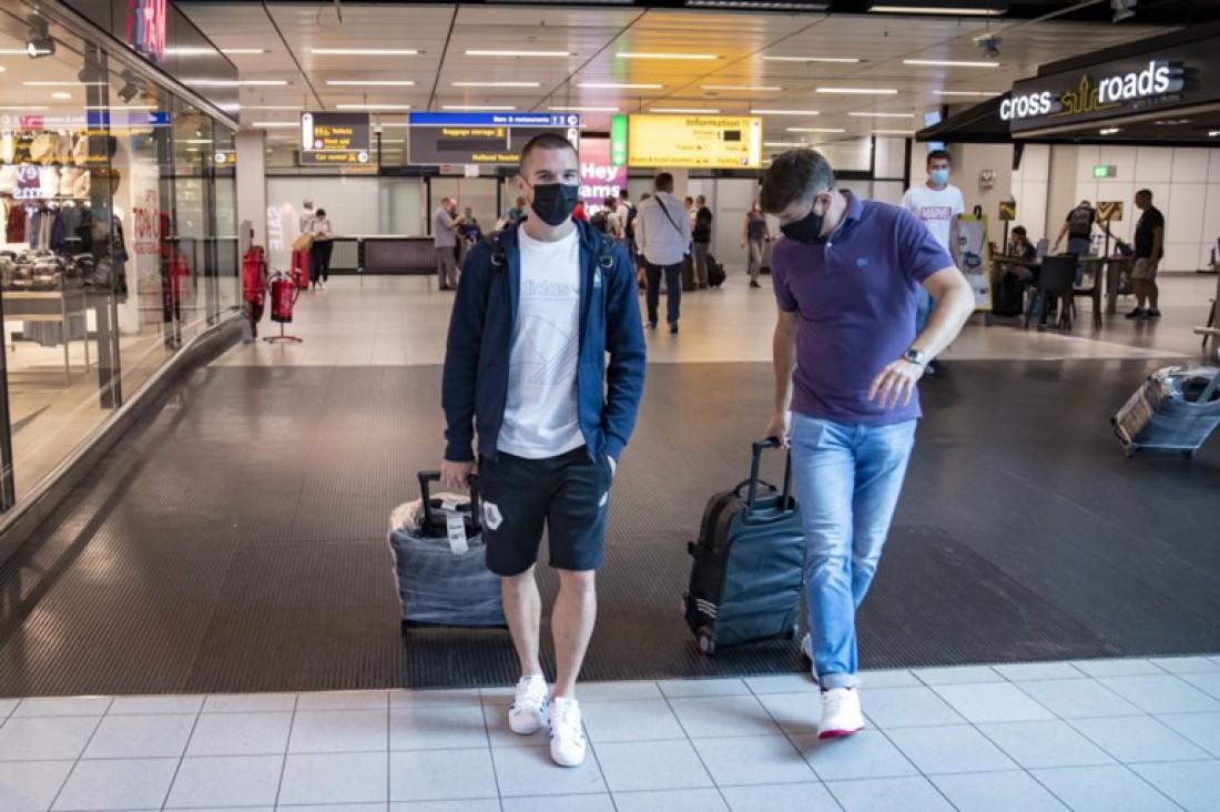 Богдан Михайличенко прибыл в Бельгию