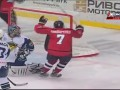 Донбасс побеждает Титан в первом матче плей-офф ВХЛ