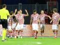Игроки сборной Хорватии отметили победу над Украиной пивом и пиццей