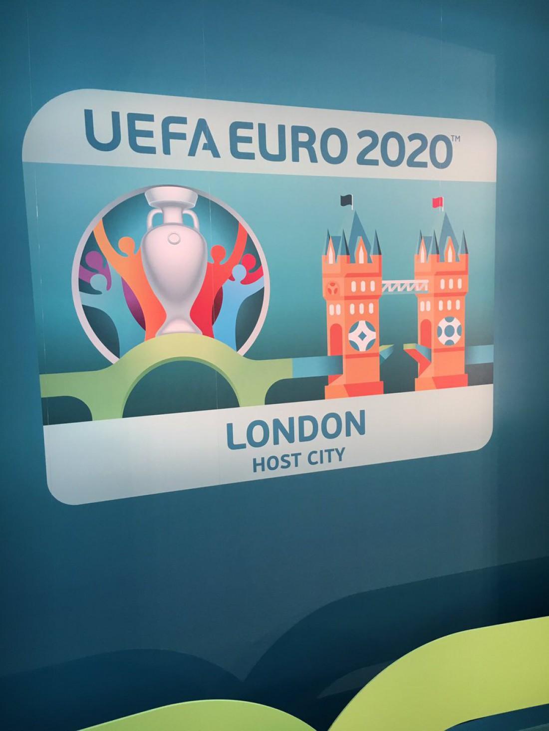 Логотип Лондона - города, который примет финал чемпионата