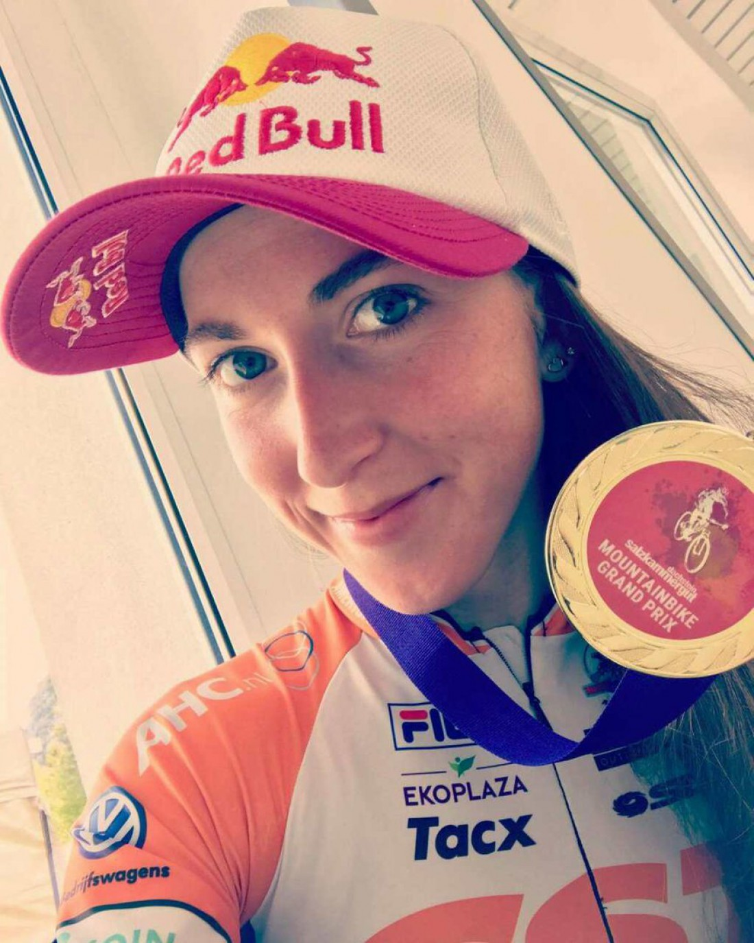 Украинская велогонщица Беломоина выиграла гонку вАвстрии