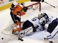 NHL: Philadelphia Flyers и Winnipeg Jets забросили 17 шайб на двоих